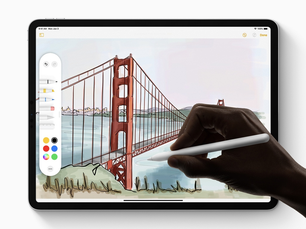 Apple Pencil for iPadOS.
