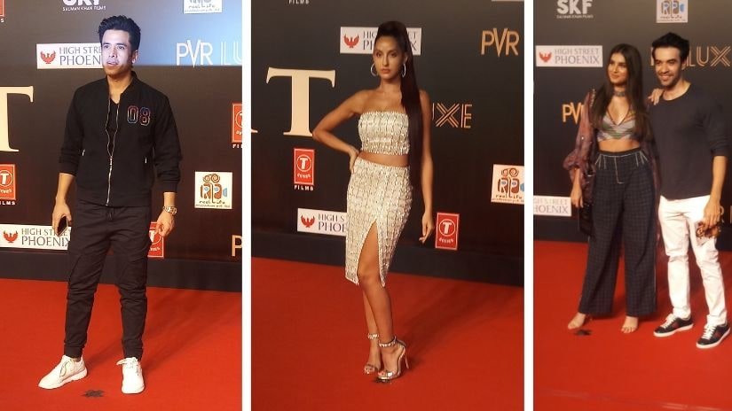 Tushar Kapoor, Nora Fatehi, Tara SSutaria and Punit Malhotra