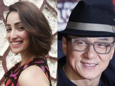 Yami Gautam receives special gift from Jackie Chan during Kaabil promotions in China