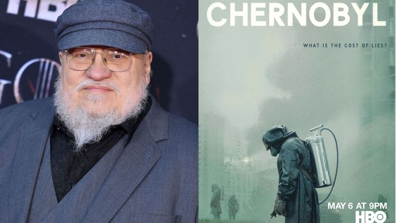 George RR Martin praises HBO's Chernobyl: 'If this doesn't win Emmys, there's no justice in Hollywood'