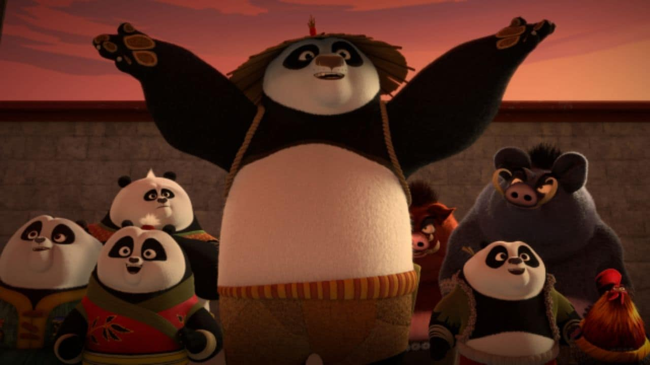 Kung Fu Panda The Paws Of Destiny Season 1 Part 2 Po Four Constellations Are Delightful In This Visually Rich Tale Entertainment News Firstpost