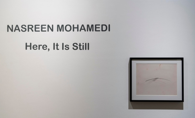 Beyond the line: 30 years on, Nasreen Mohamedis work continues to mystify with its minimalistic, sensory approach
