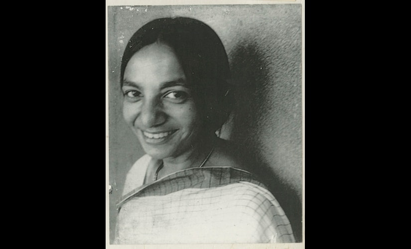 Archive photograph of artist Nasreen Mohamedi. Courtesy: Sikander and Hyadri Collection