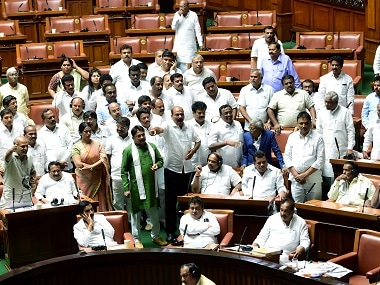 Karnataka Assembly Floor Test LIVE Updates: Rebel MLAs write to Speaker ahead of today's meeting, ask for 4 weeks' time to 'consult lawyer', claim reports