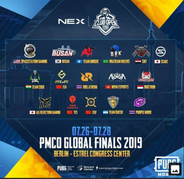 Final 16 teams.
