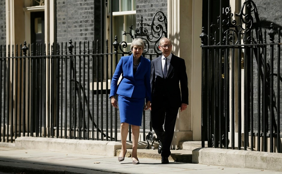 The former London mayor took office Wednesday and swept away more than half the ministers who served May in the difficult closing months of her premiership. AP.