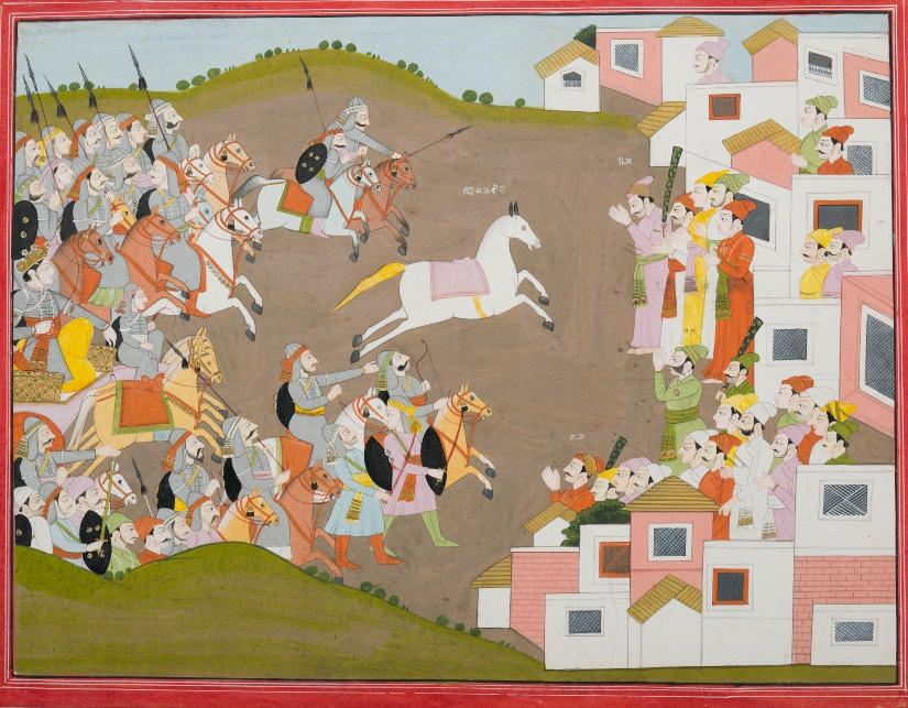 Before canvas came to India in 18th century, what did artists paint on? A new exhibition answers