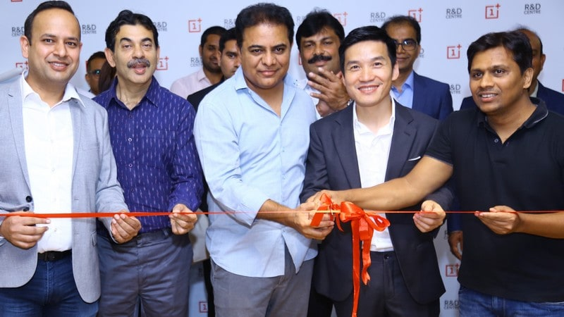 OnePlus opens its first R&D centre in Hyderabad, to invest Rs 1,000 crore over three years