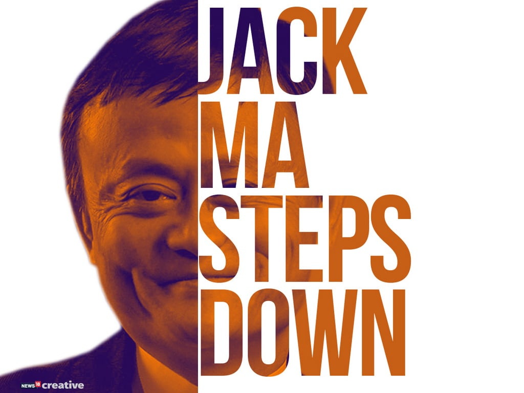 , Alibaba founder Jack Ma steps down as chairman on 55th birthday as part of succession plan