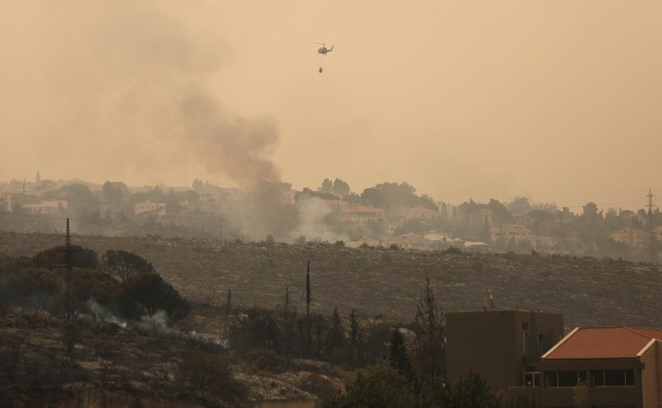 Lebanon fires force residents to flee homes; heatwave, strong winds exacerbate blaze