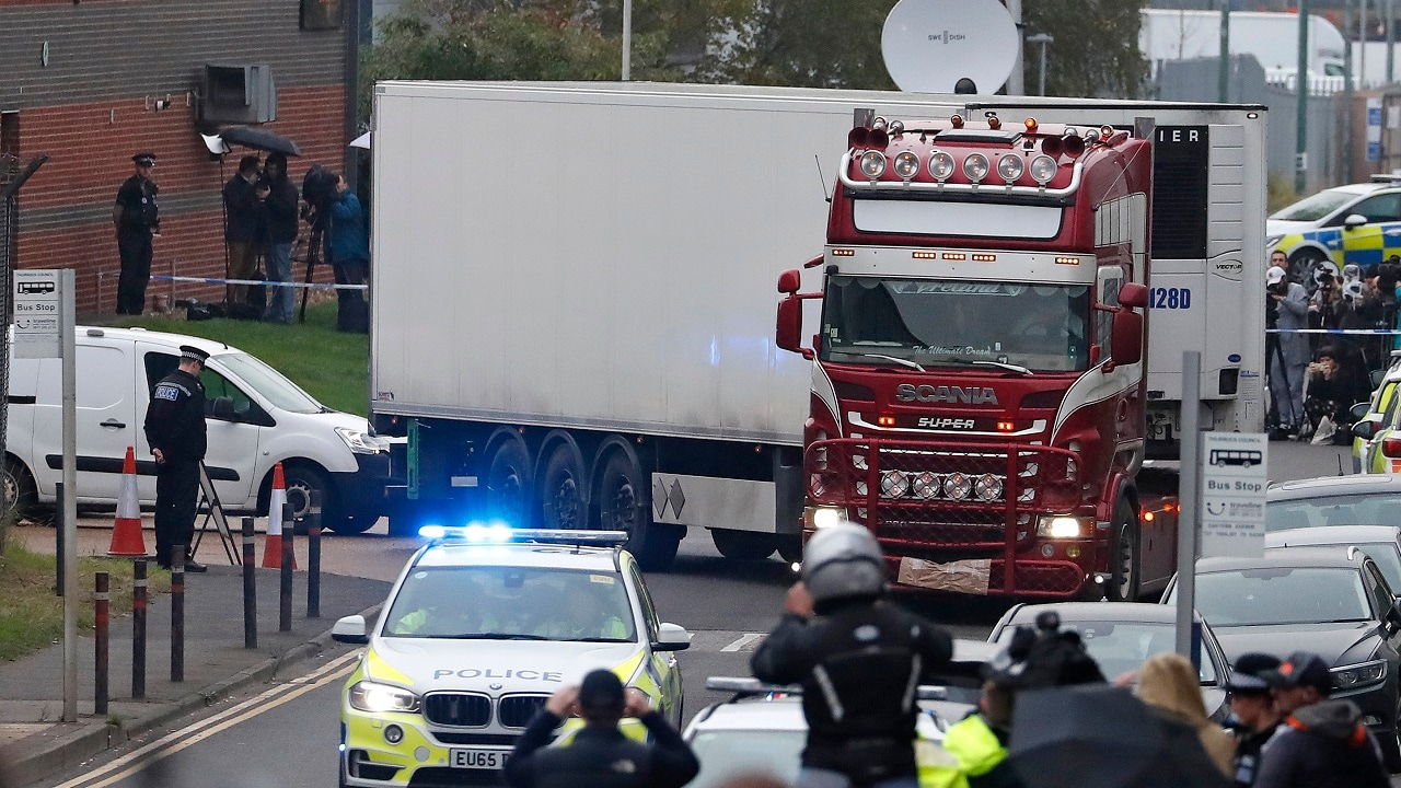 British police confirms all 39 people found dead in truck were Chinese citizens; magistrate gives detectives 24 hours to question driver