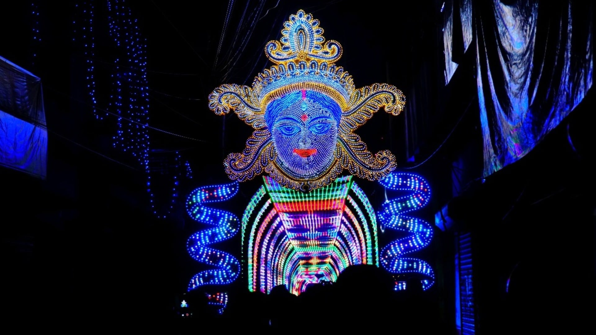 Let there be light: Chandannagar's masters of illumination have brightened up festivals for years