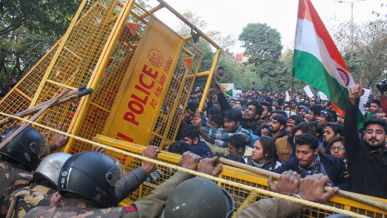 Jamia Millia Islamia firing: Gunman booked for attempt to murder, injured student stable; Opposition slams Delhi Police, accuses BJP of creating 'riot-like' situation