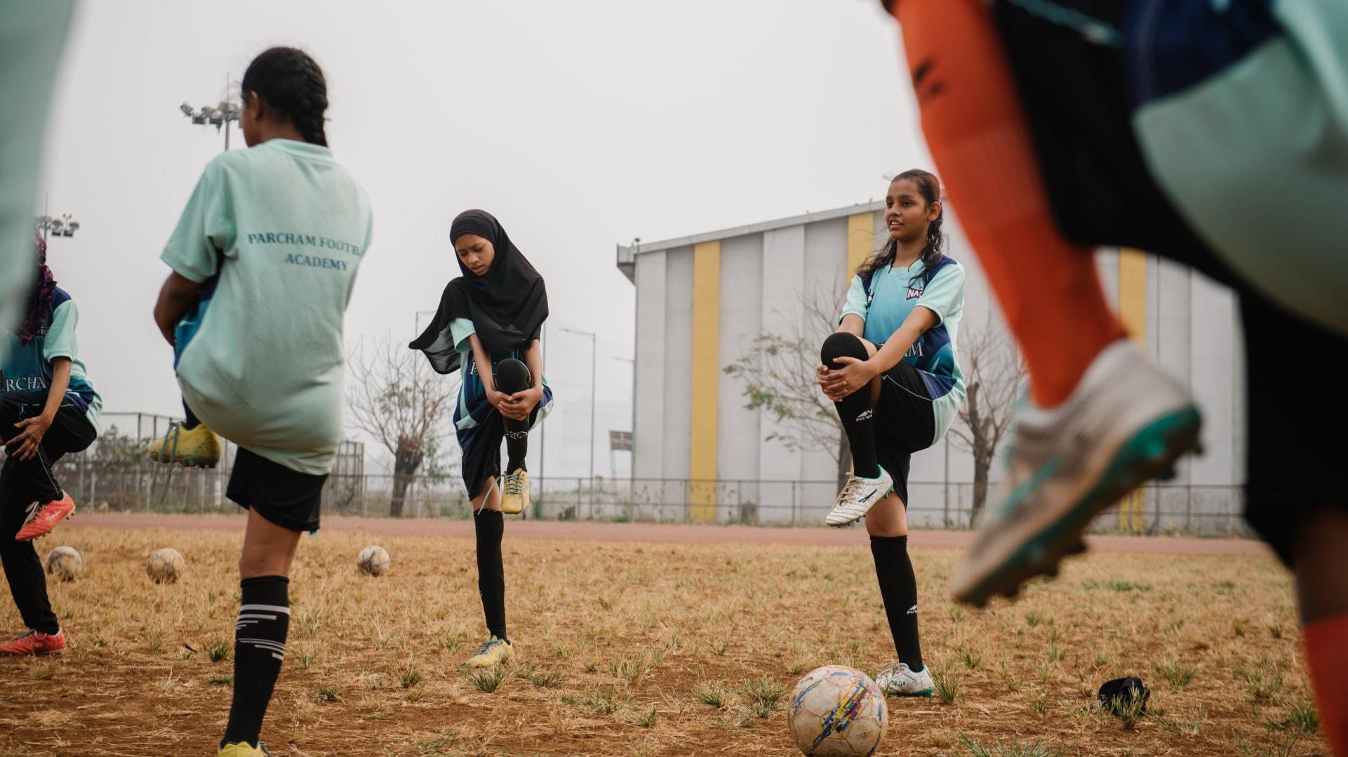 Under the Open Sky: Mumbra's girls find freedom, reclaim public space through football