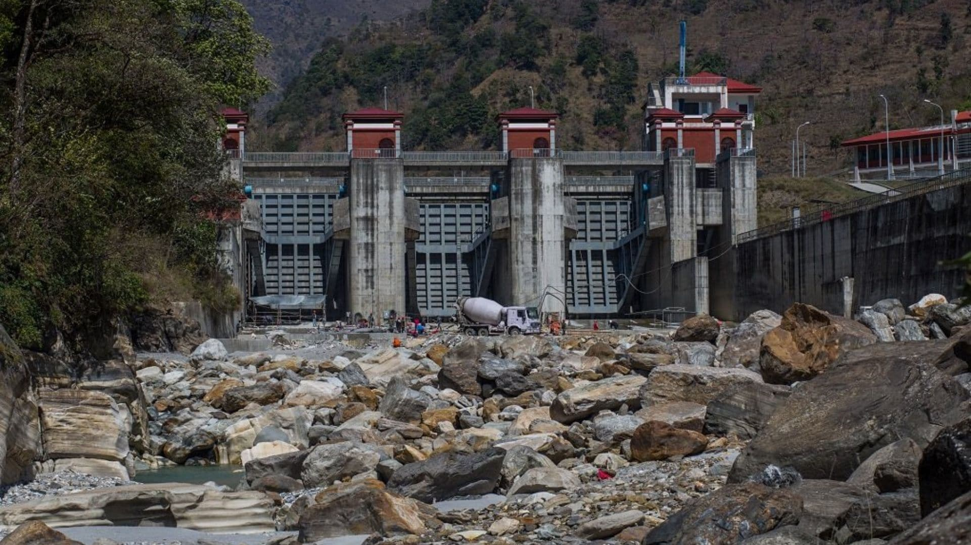 Caught in a series of dams and hydro projects, is Nepal's Marsyangdi river slowly drying up?