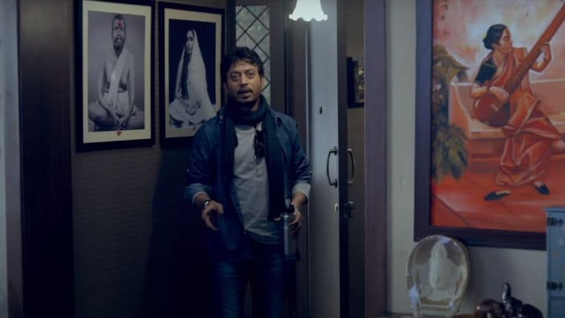 Irrfan Khan in a still from Piku