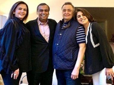 Rishi Kapoor passes away: Neetu thanks Ambani family for support, calls them 'guardian angels'