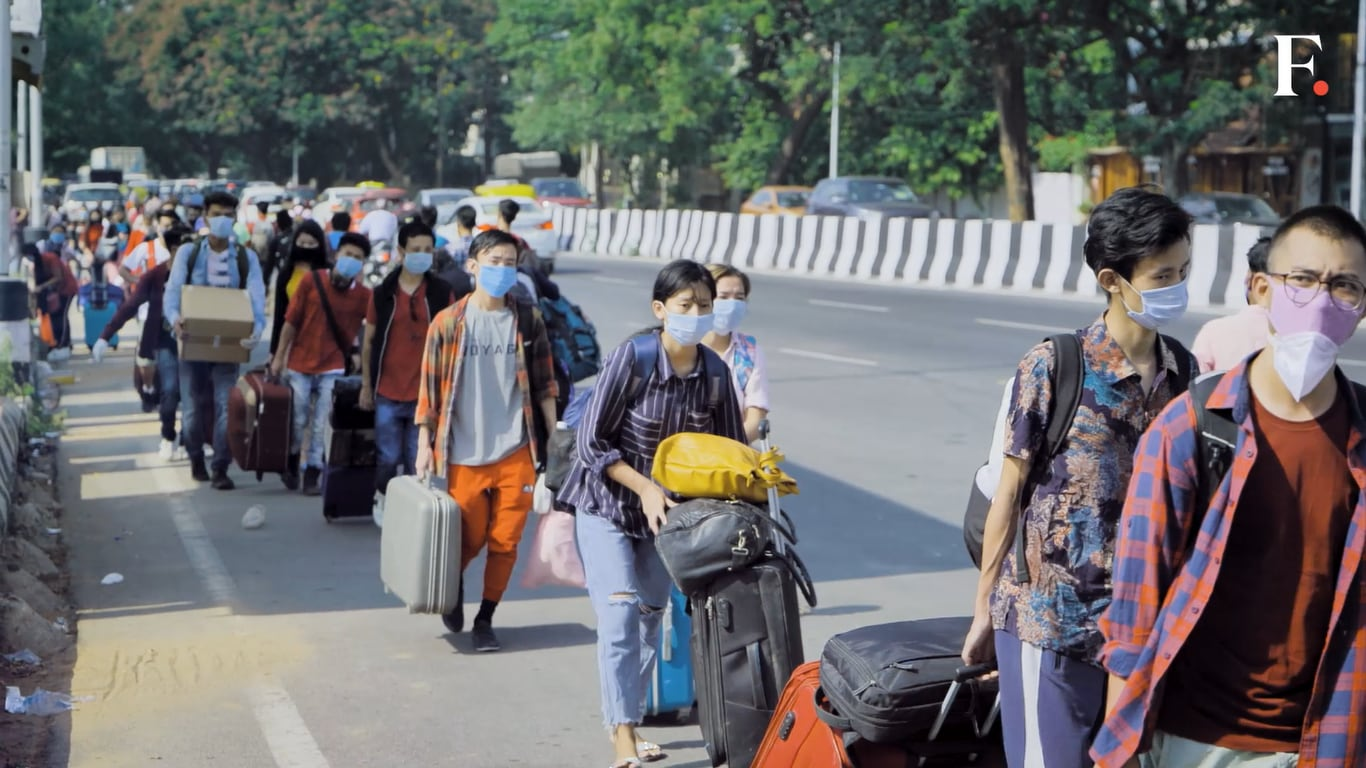 Out of work and stranded, over 1450 people from North East attempt to travel back from Bangalore