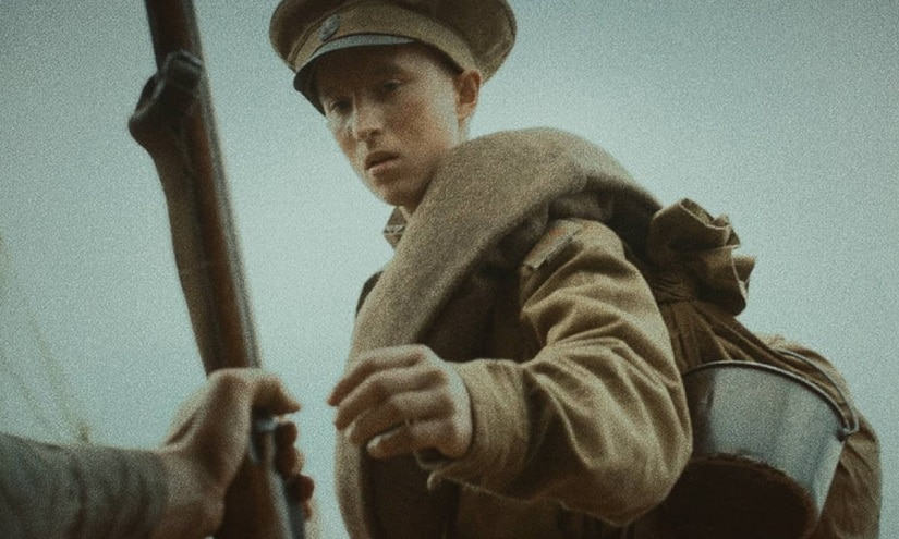A still from A Russian Youth