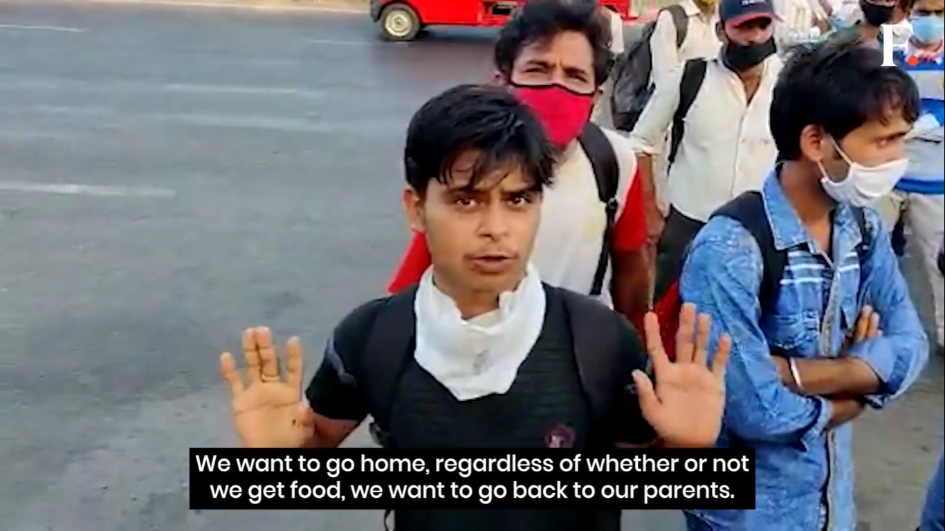 Coronavirus Lockdown: 'No dignity in living like this, it is humiliating', migrant workers from Uttar Pradesh on why they want to leave Mumbai