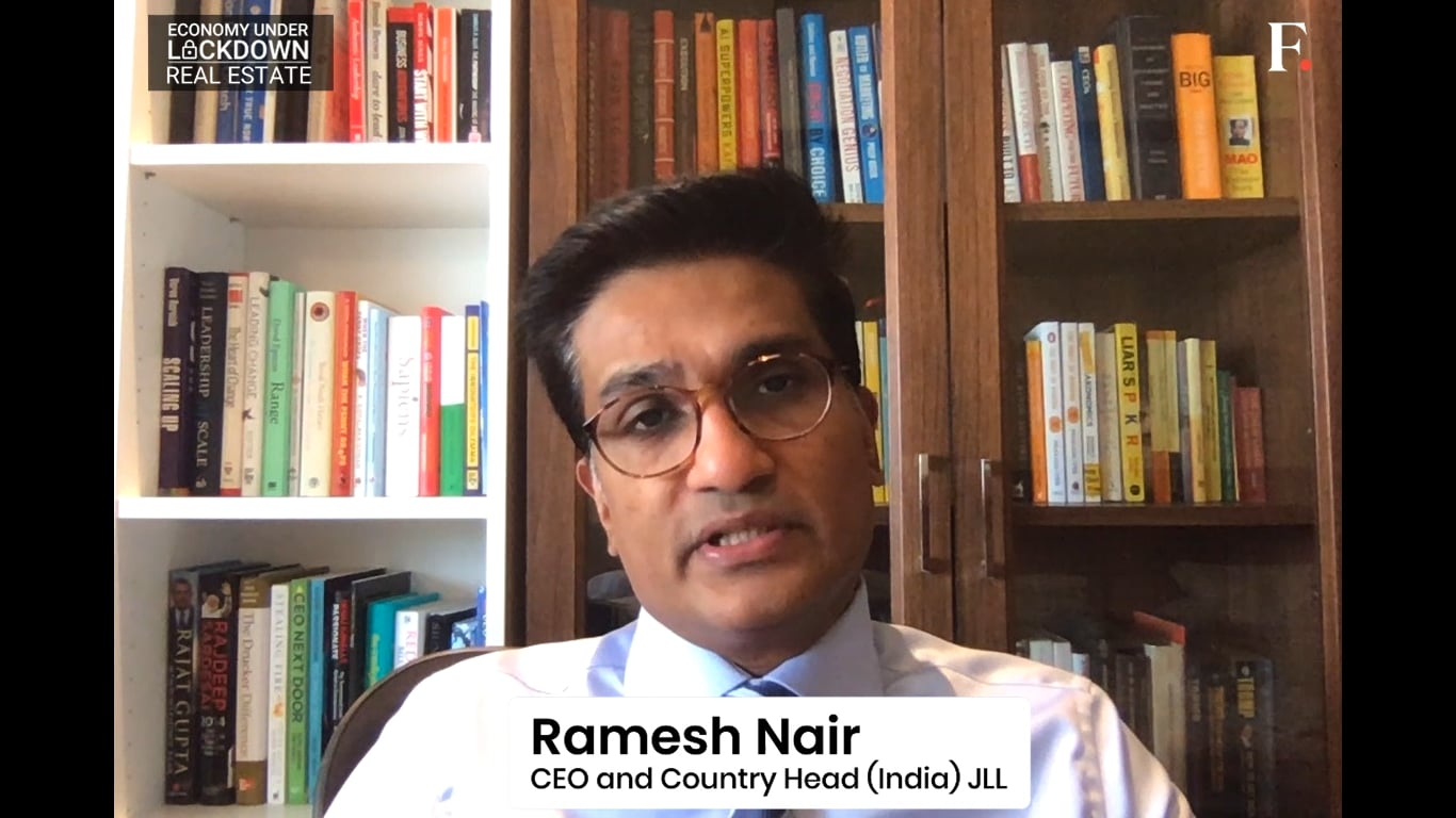 Insider Take By Ramesh Nair, CEO and Country Head (India) JLL | Economy Under Lockdown | Real Estate