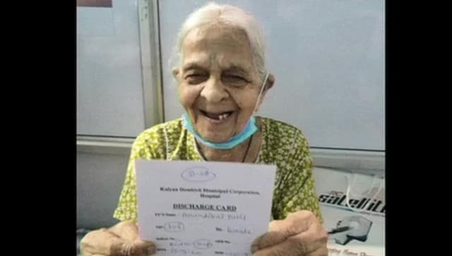 In Maharashtra's Thane, medicos give 106-year-old woman who beat COVID-19 warm farewell