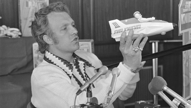 Evel Knievel's son sues Disney over Toy Story 4 character Duke Caboom