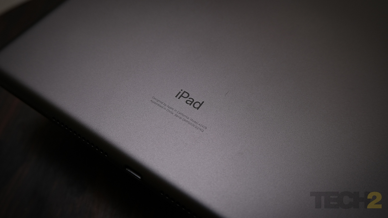 The iPad is the blandest iPad Apple's made yet. Everything about it is middling, but in the end, none of that matters and the 2020 iPad is still one of the best tablets you can buy today. Image: Anirudh Regidi