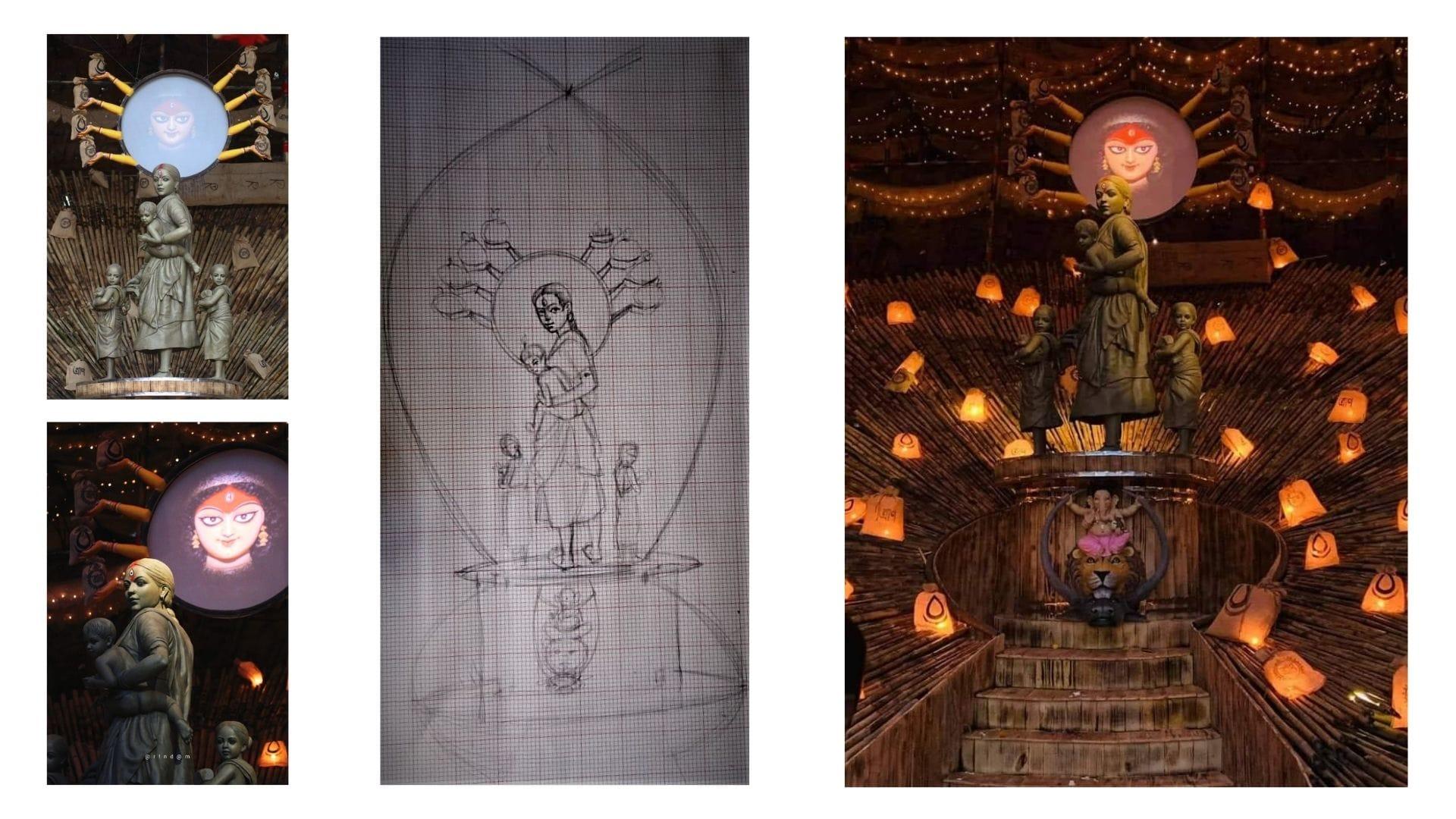 DurgaPuja2020Art-rintu1