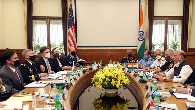 India, US to sign landmark defence pact to share high-end military technology, logistics tomorrow - India News , Firstpost