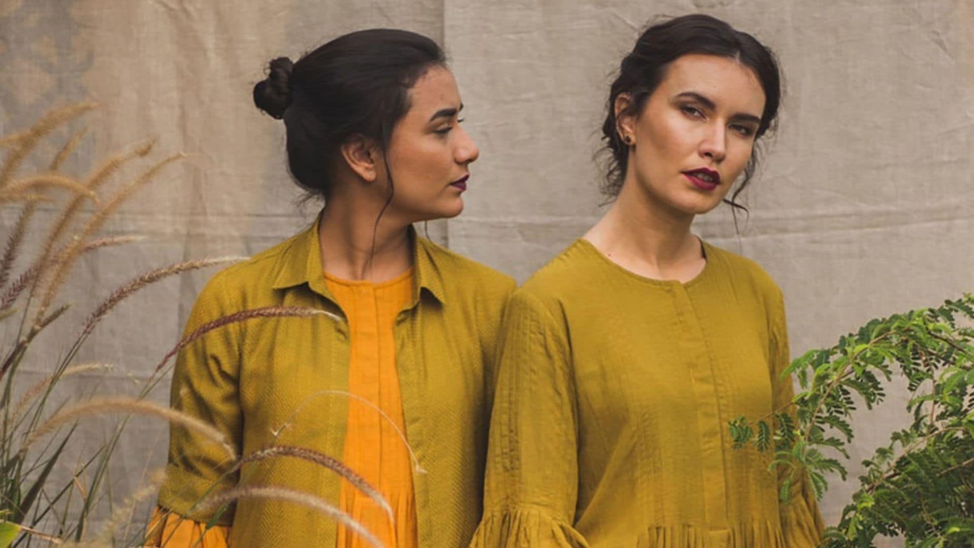 In a bid to lower carbon footprint, a group of Indian designers turns food waste into haute couture