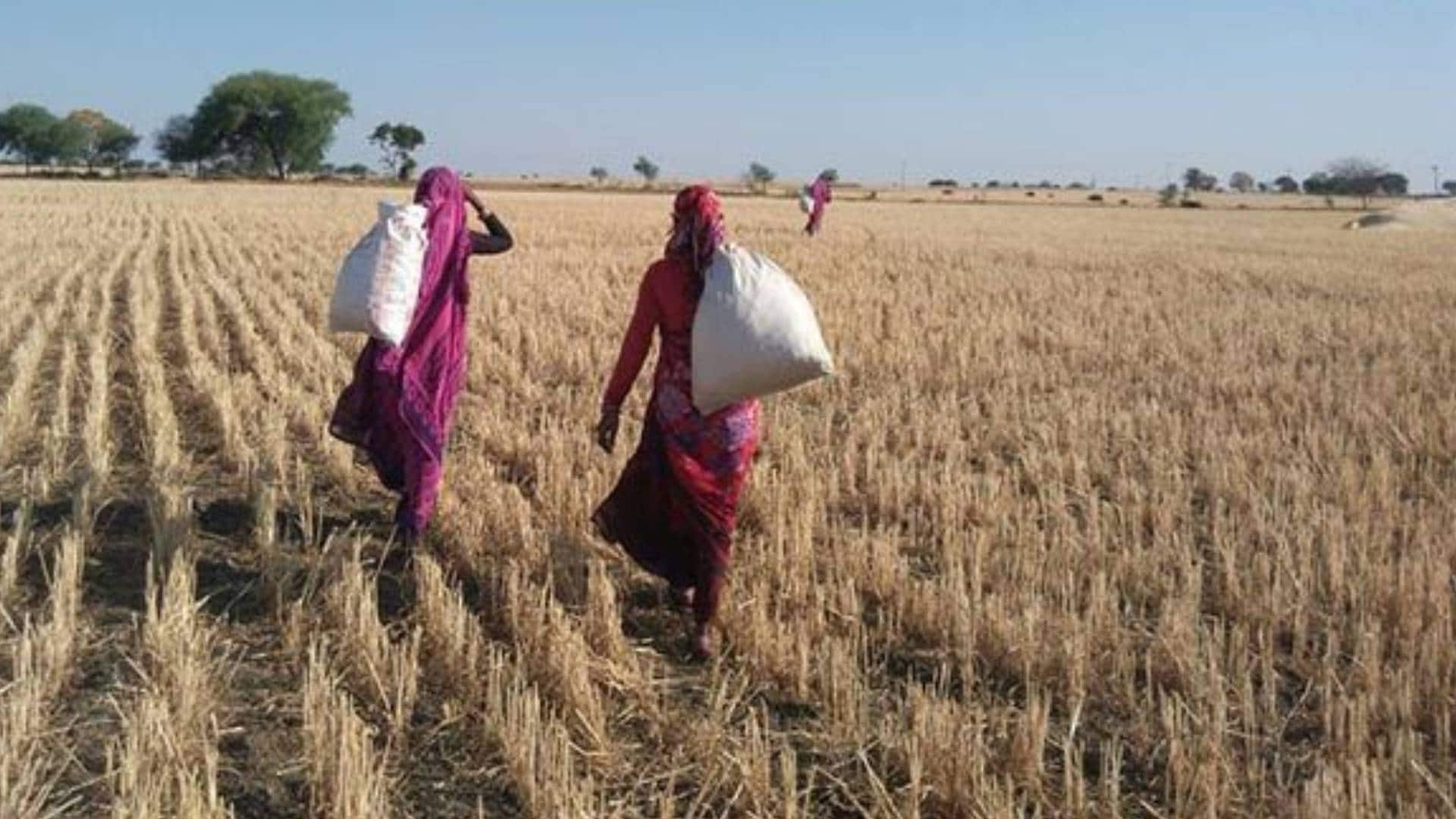 To give the (unseen) woman farmer a land of her own