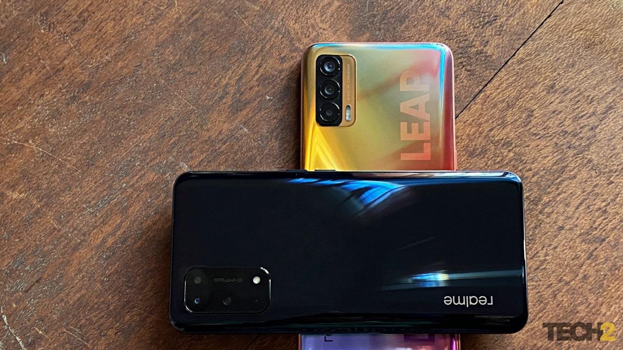 Realme X7 Pro. Image: Tech2/Sheldon Pinto