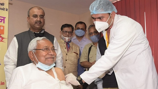 Everyone in Bihar will get free COVID-19 vaccine, even at private hospitals, says Nitish Kumar after receiving first dose – Health News , Firstpost