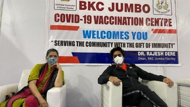 Renuka Shahane, Ashutosh Rana, Shefali Shah receive first dose of coronavirus vaccine