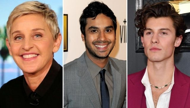 Ellen DeGeneres, Shawn Mendes, Kunal Nayyar appeal to raise funds for India amid COVID-19 second wave