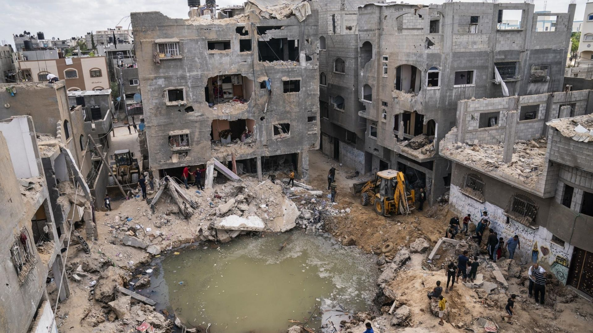 Amid ceasefire after 11-day war, displaced in Gaza face familiar plight