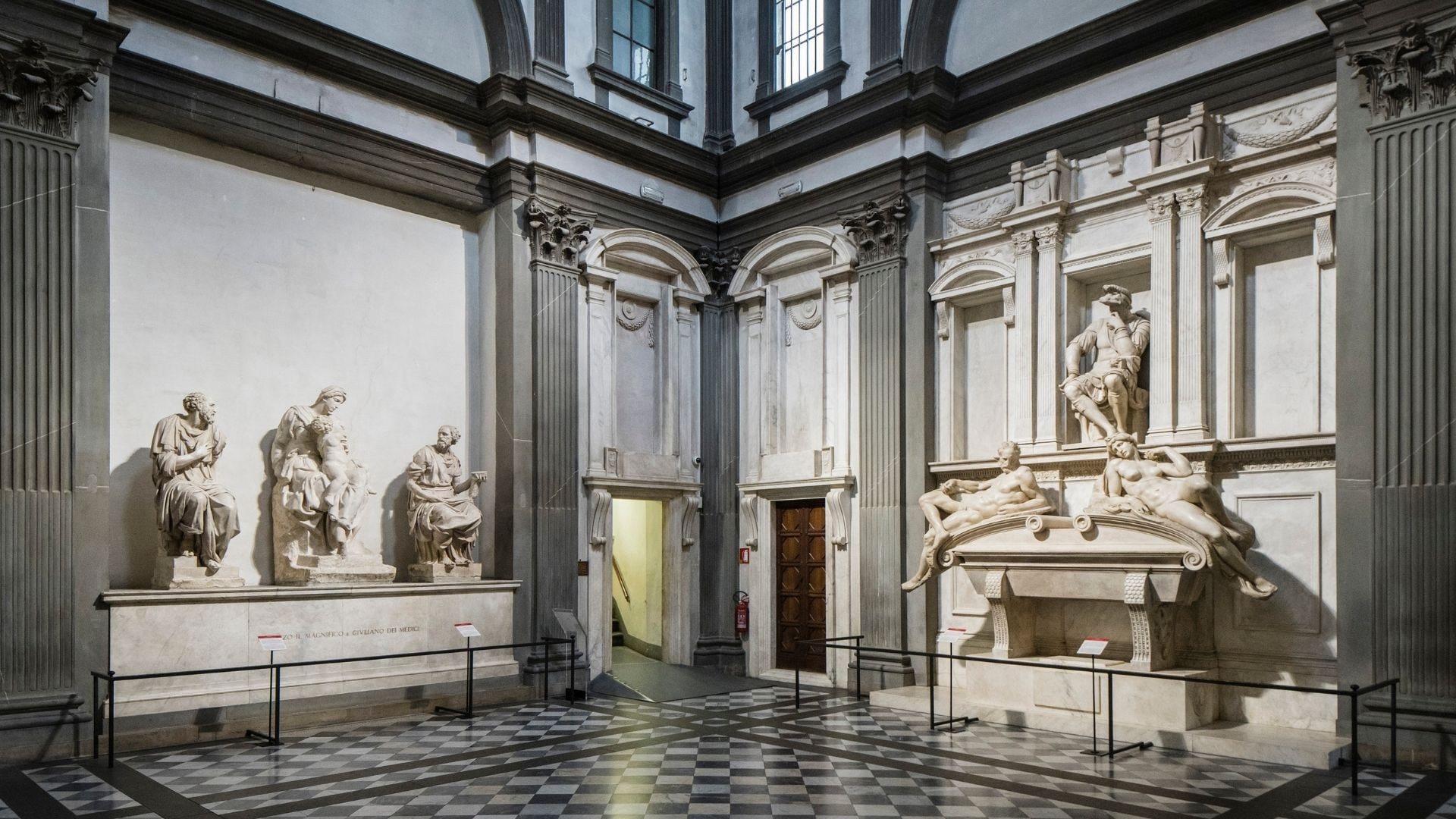 Amid COVID-19 pandemic, restorers in Florence's Medici Chapel unleash grime-eating bacteria to clean Michelangelo's sculptures