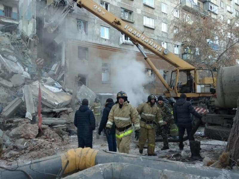 4 dead, 79 missing after gas explosion at high rise in Russian Federation