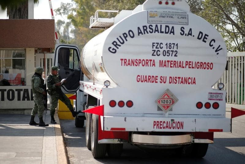Mexico City pipeline hit by 'sabotage' amid crackdown on fuel theft