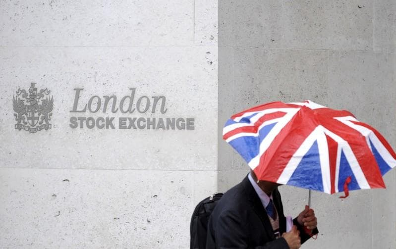 Brexit deal defeat knocks Londons blue chip stocks as pound weighs