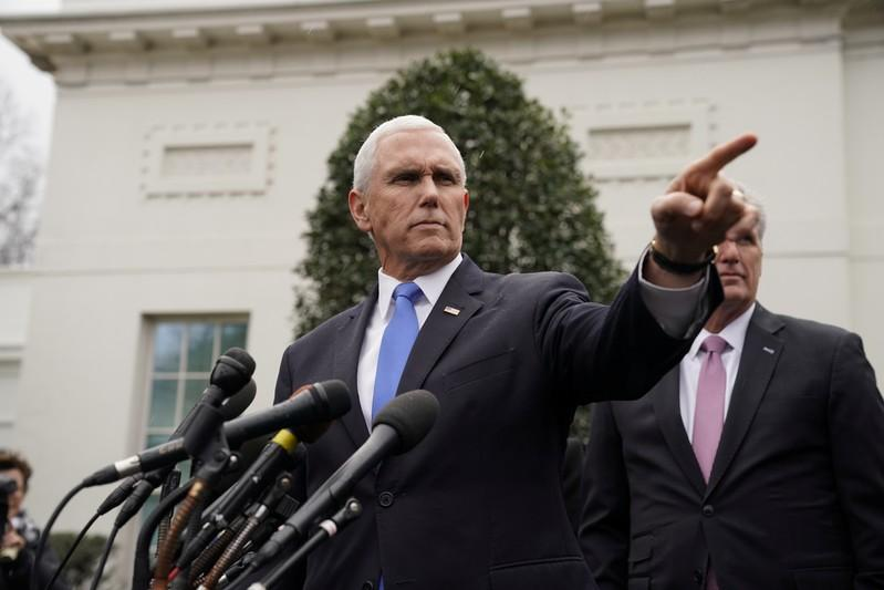 U.S. vice president reiterates plan to withdraw troops from Syria