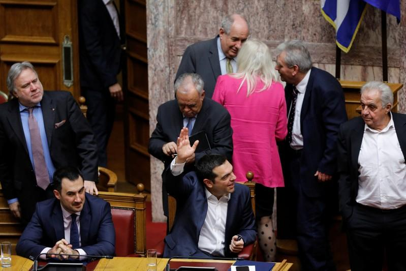 Greek Prime Minister wins vote of confidence from parliament