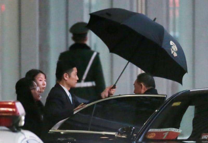 North Korea envoy in U.S. for talks with Pompeo, possibly Trump