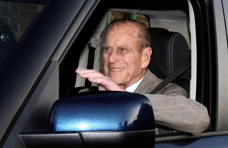 UK's Prince Philip, 97, has hospital check-up after road crash