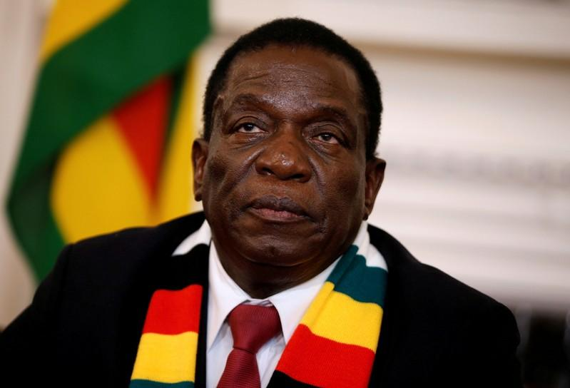 Zimbabwe president condemns crackdown, backers raise impeachment fears