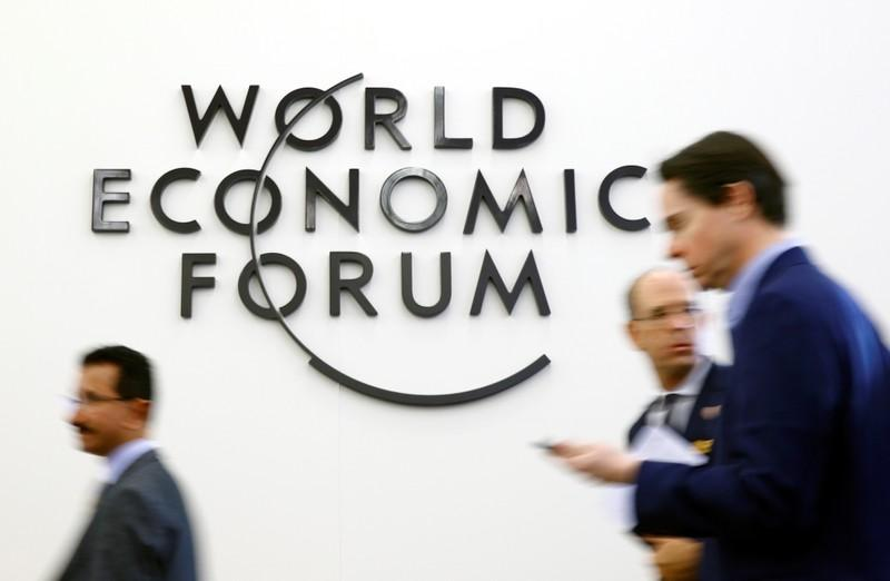 Davos bankers try to put brave face on gloomy outlook