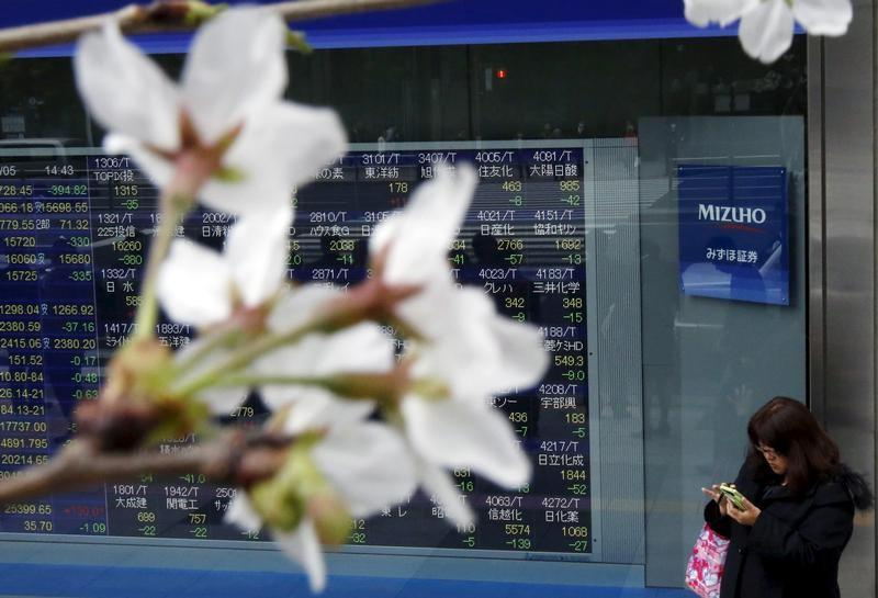 Global Markets Asian shares dip worries over growth and trade sour mood