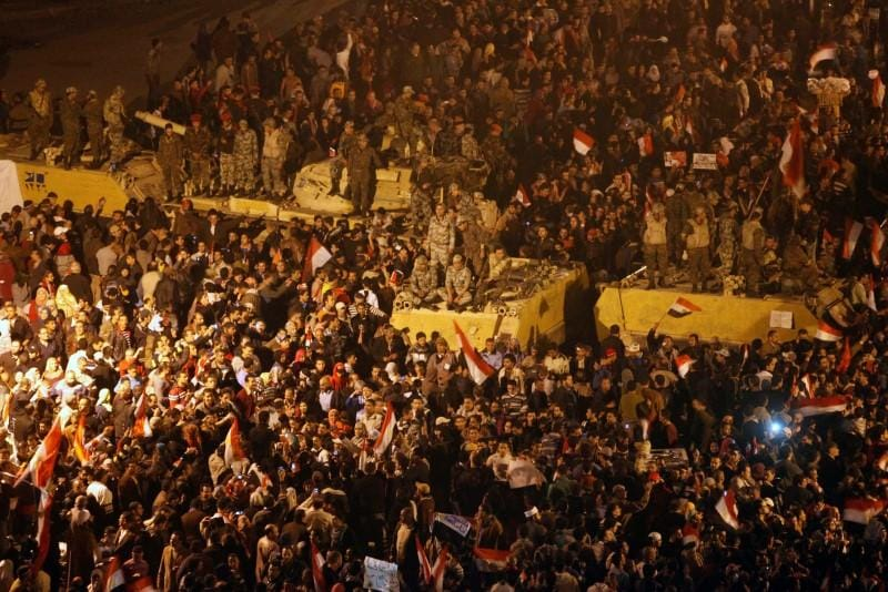 Eight years after uprising, Egyptians say freedoms have eroded