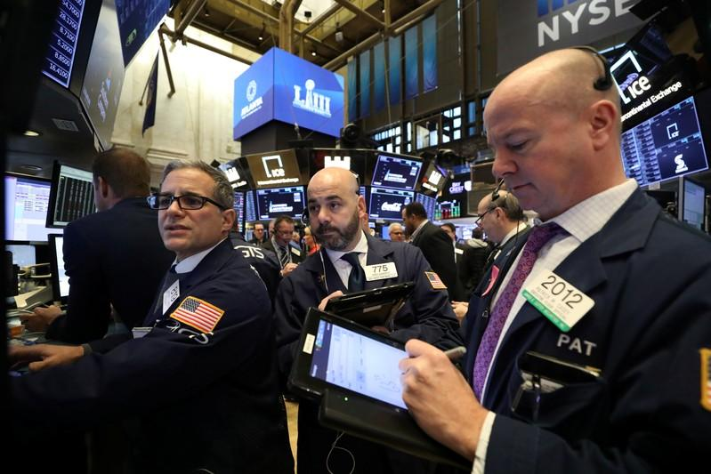 Chipmakers, airlines lift Nasdaq; trade worries stall S&P, Dow